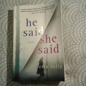 Erin Kelly He Said She Said Book FREE WITH BUNDLE